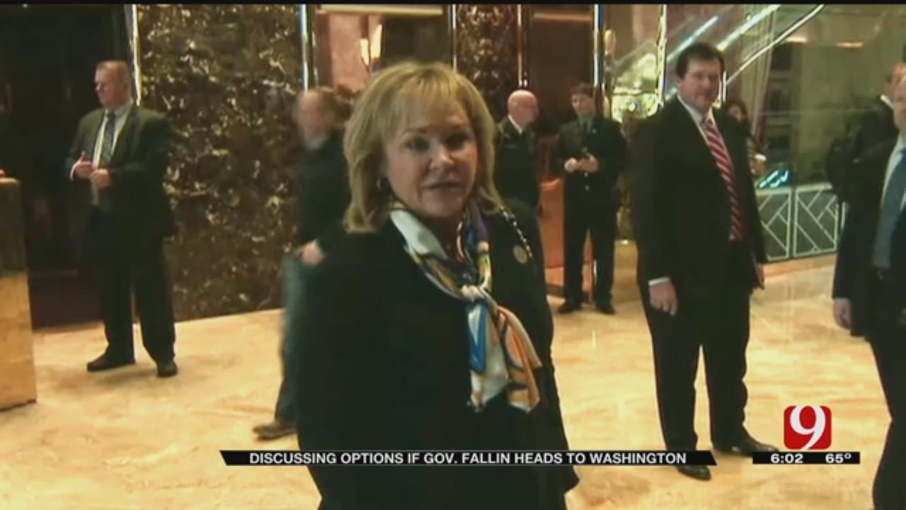 Options If Gov. Fallin Heads To Washington