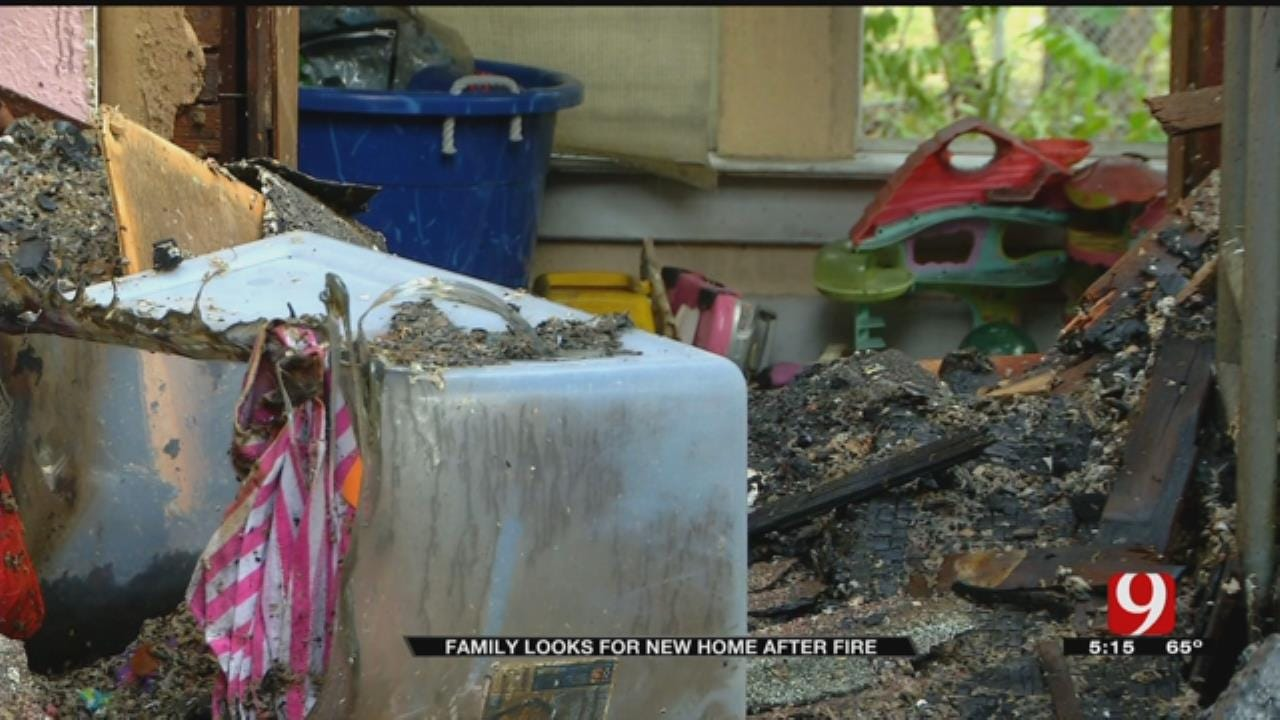 Guthrie Family Looking For A New Home After Devastating Fire