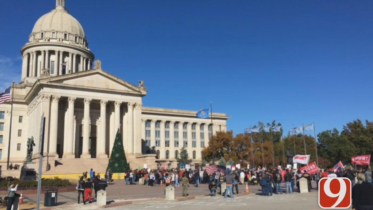 Rally Against Hate at Capitol Met With Counter-Protest