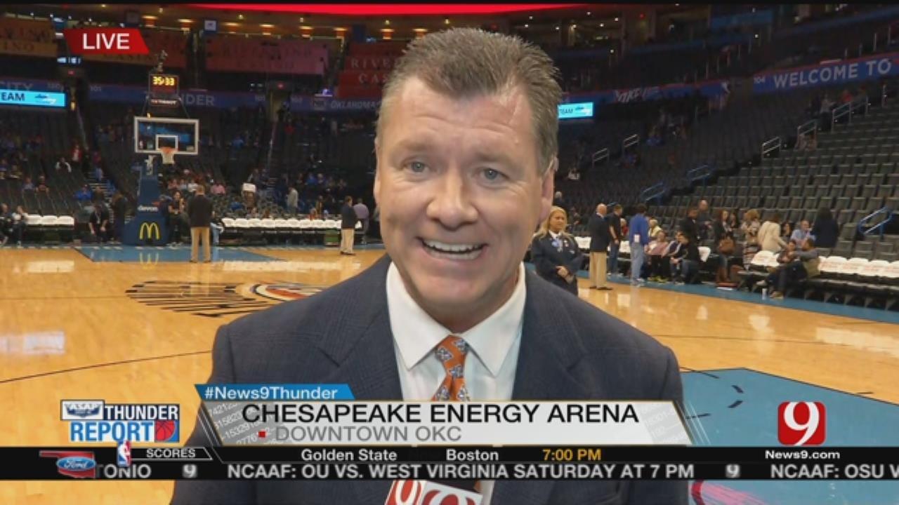 Thunder Host Nets On Friday Night