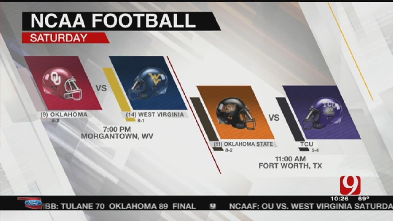 Mountaineers Prep For Sooners
