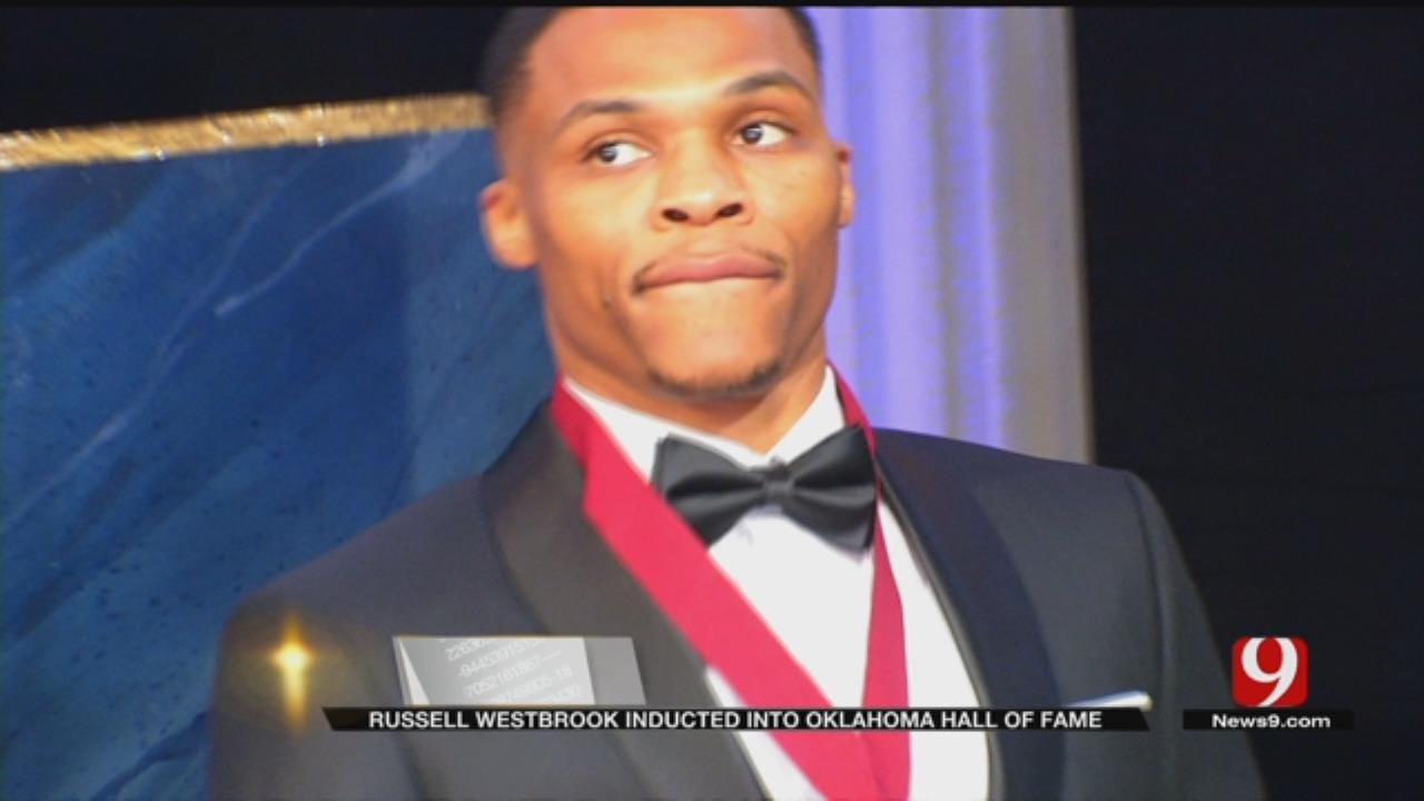 Russell Westbrook Inducted Into Oklahoma Hall Of Fame