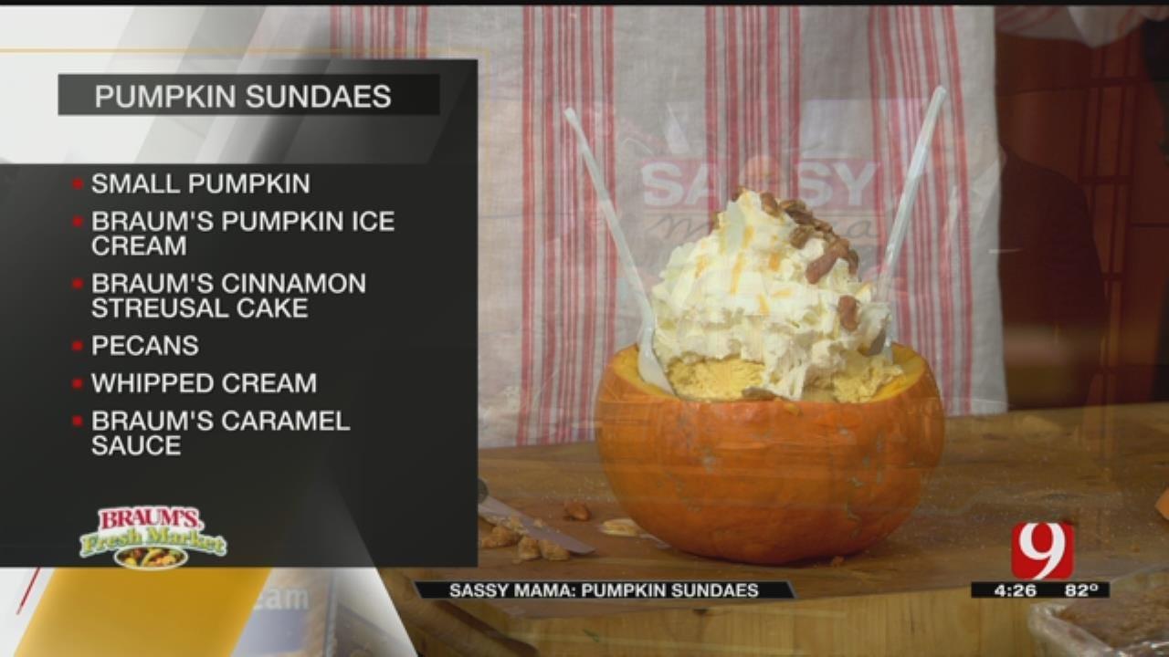 Pumpkin Sundaes