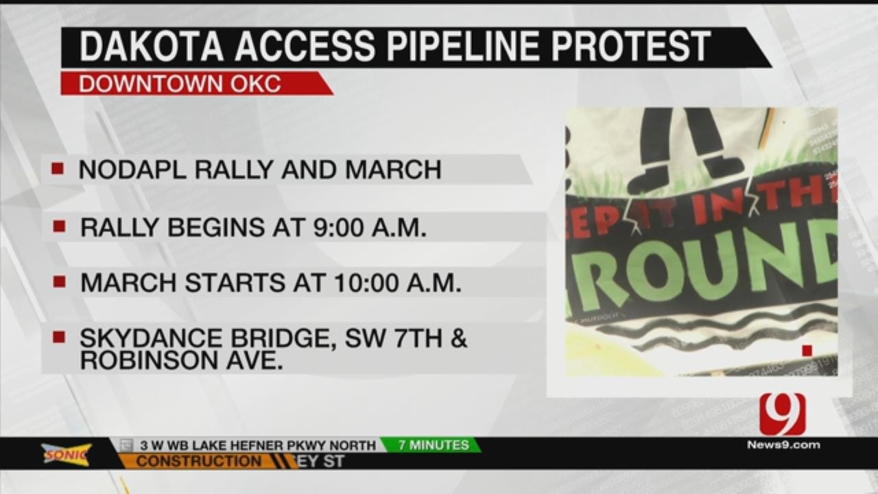 Local Group Plans Dakota Access Pipeline Protest Today