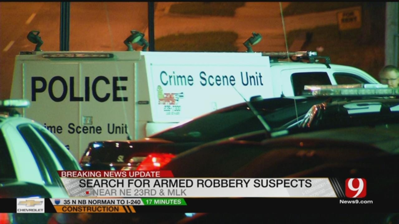 Police Search For Two Armed Robbers In NE OKC