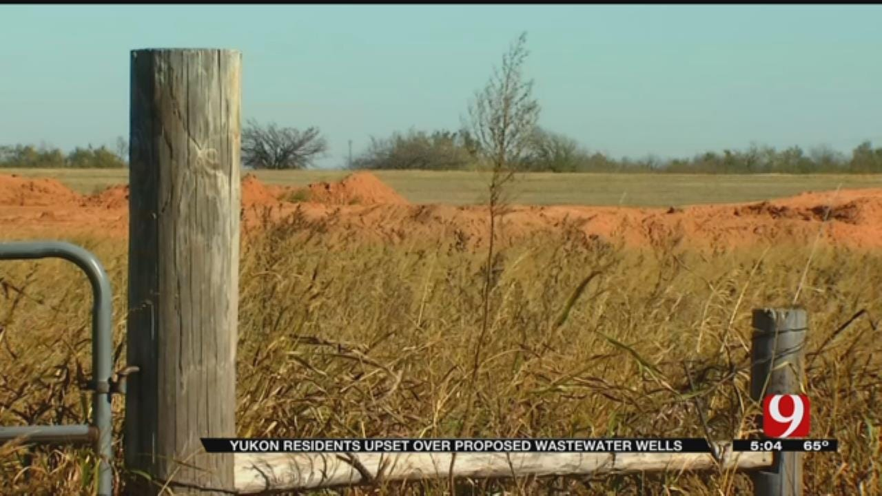 OKC, Yukon Neighbors Vow To Fight Disposal Wells