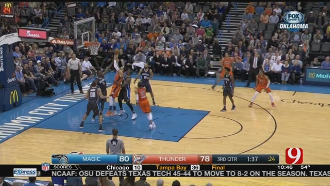 Thunder Report After Loss To Orlando