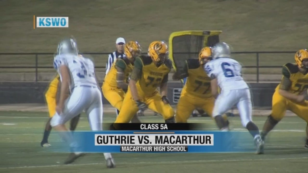 Macarthur Shuts Out Guthrie