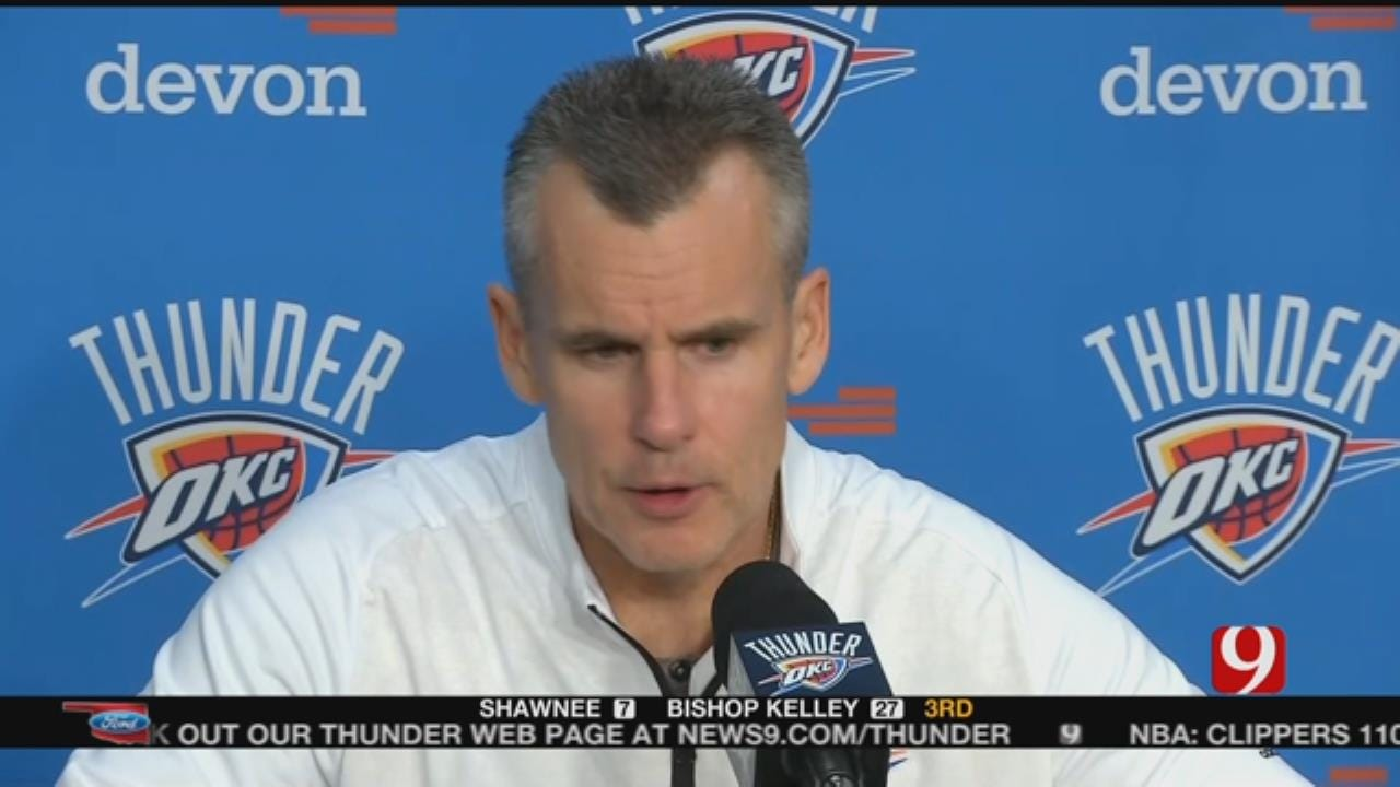 Thunder Drop Second Straight Home Game In Loss To Clippers