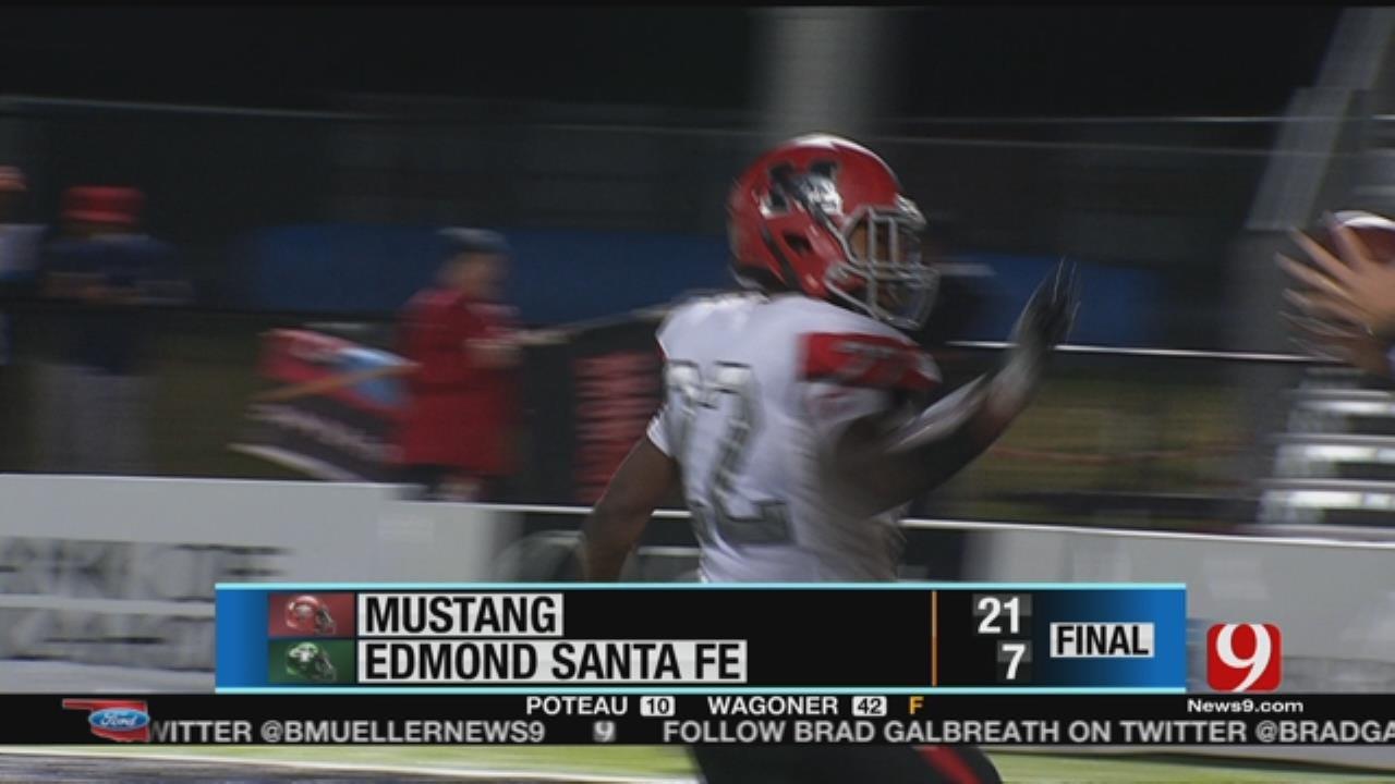 Mustang Beats Edmond Santa Fe 21-7