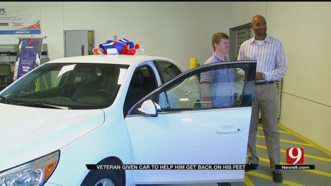 OKC Veteran Receives Free Car Ahead Of Veterans Day