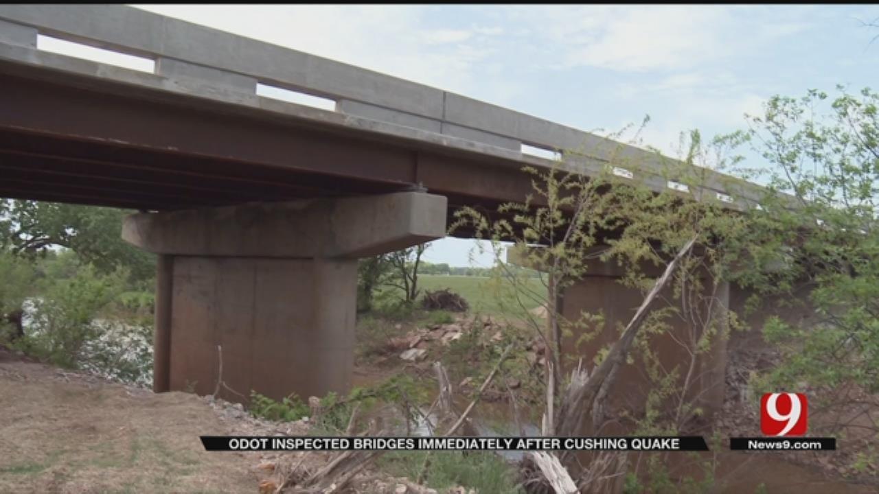 ODOT: Bridges Inspected Immediately After Cushing Quake