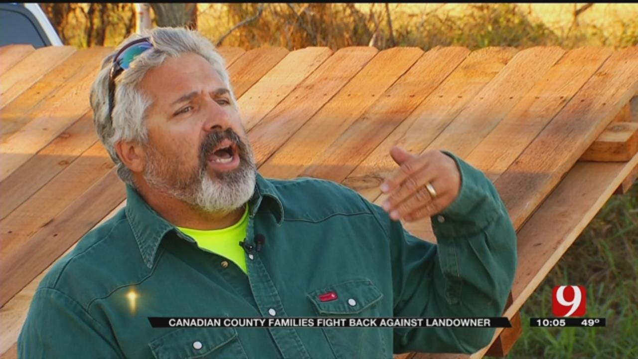 Canadian Co. Families Fight Back Against Landowner