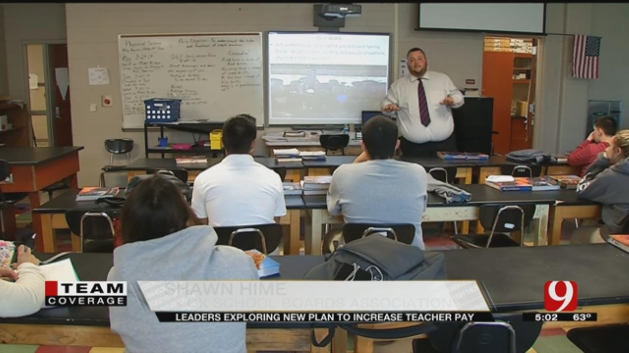 State Leaders Explore New Ways To Increase Teacher Pay