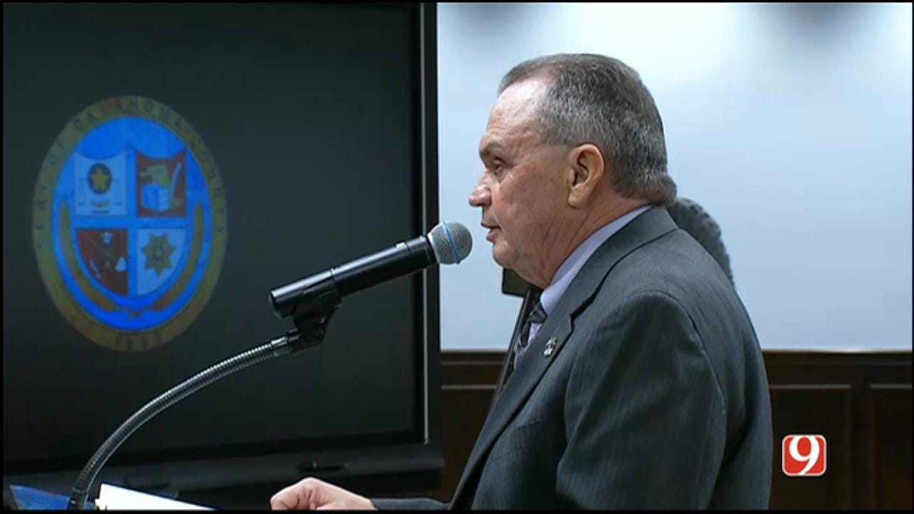 Sheriff John Whetsel Speaks At County Commissioners Meeting