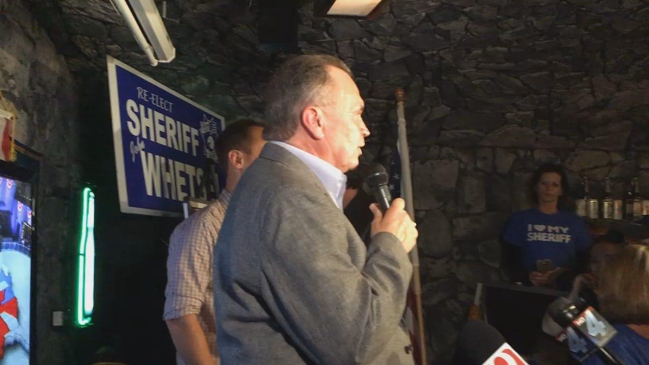 WEB EXTRA: Sheriff John Whetsel Acceptance Speech