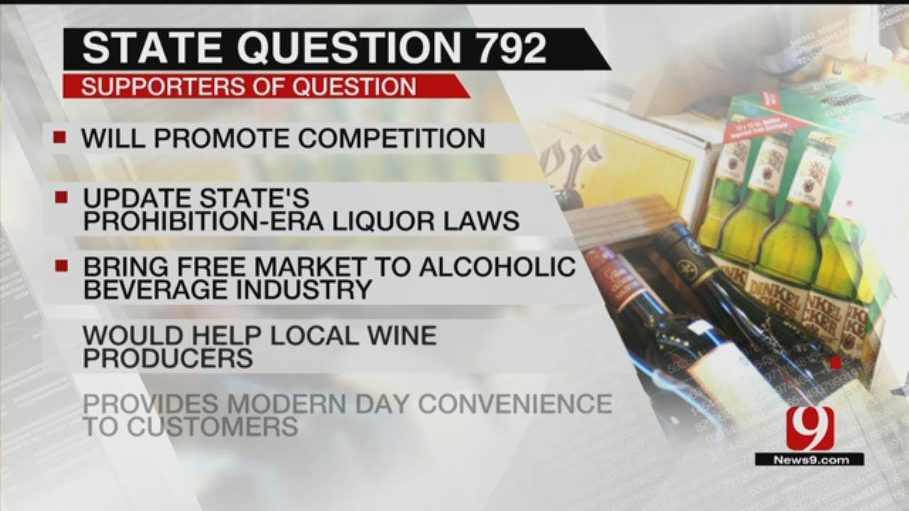 State Question 792 Aims To Change Oklahoma Liquor Laws