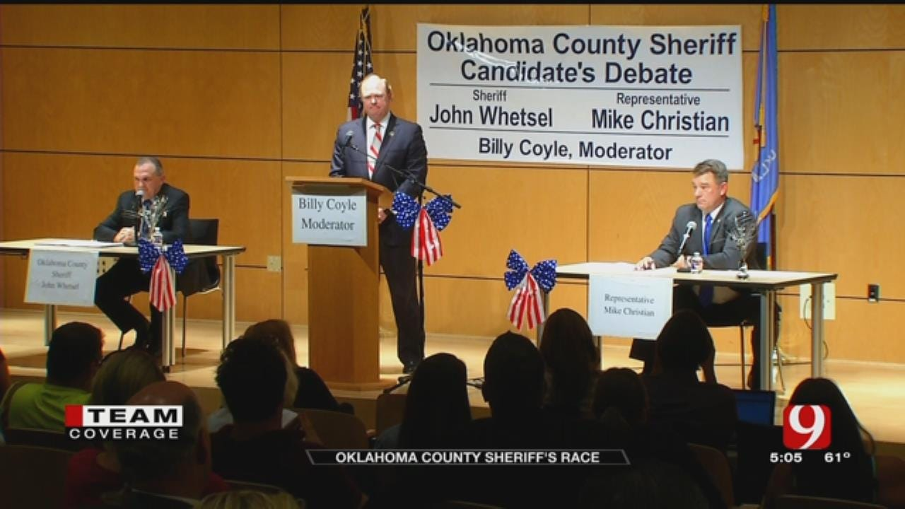 Incumbent Oklahoma Co. Sheriff Faces State Rep. In General Election
