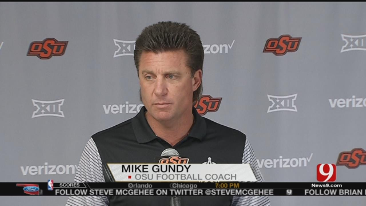 Mike Gundy & OSU Prepare For Texas Tech Matchup