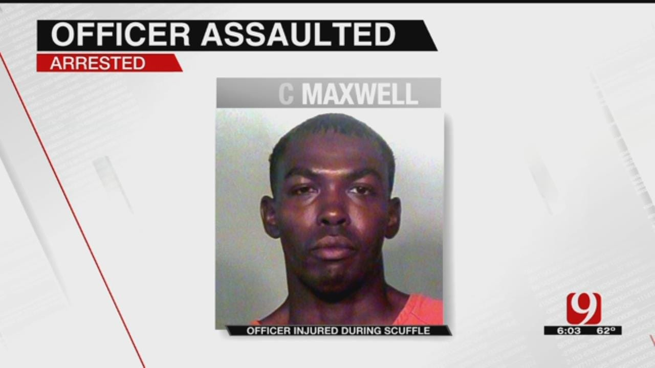 Man Accused Of Punching Police Officer In Downtown OKC