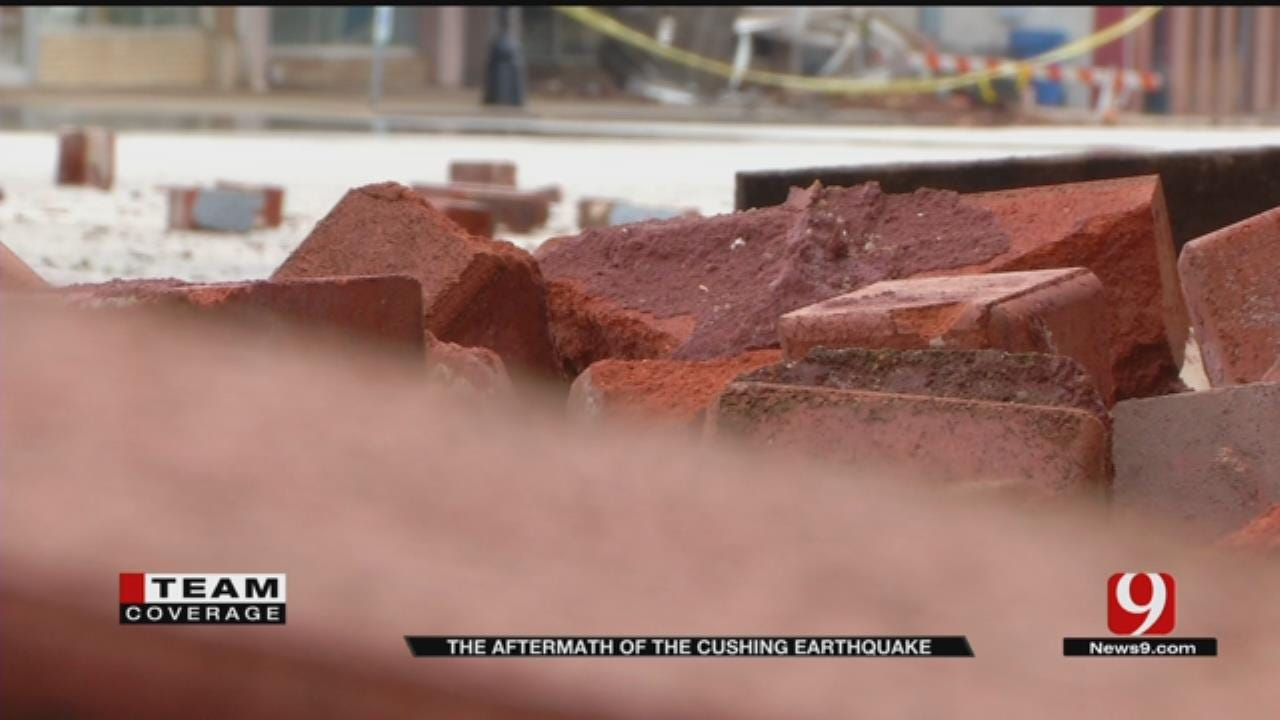 Several Downtown Cushing Buildings Have 'Significant Damage'