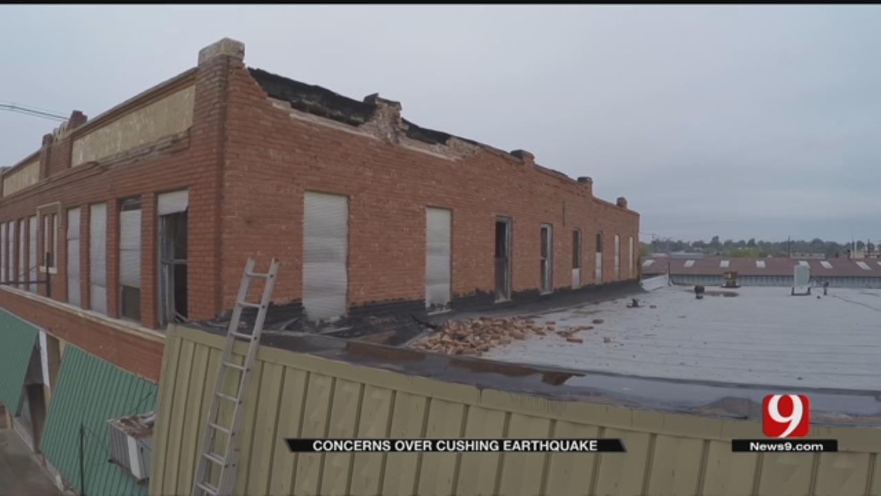 Concerns After Earthquake Strikes Near Cushing