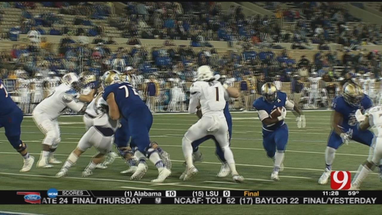 Tulsa Beats East Carolina, 45-24
