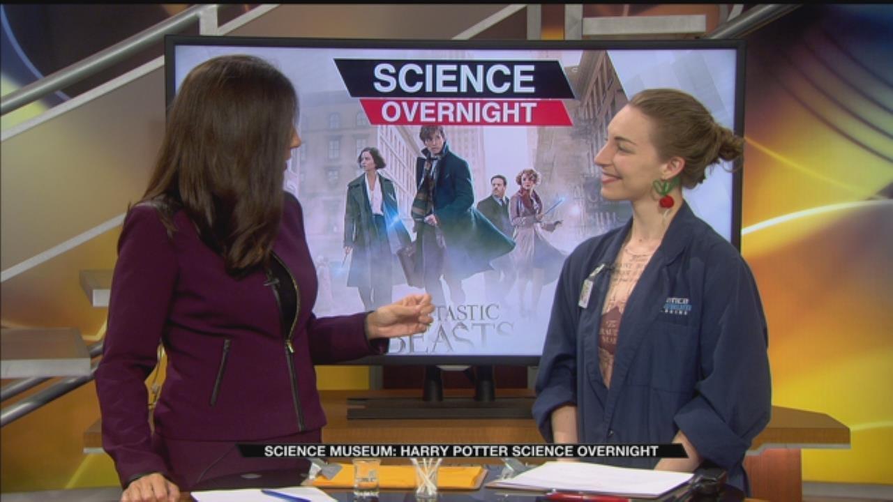 Science Museum: Harry Potter Science Overnight