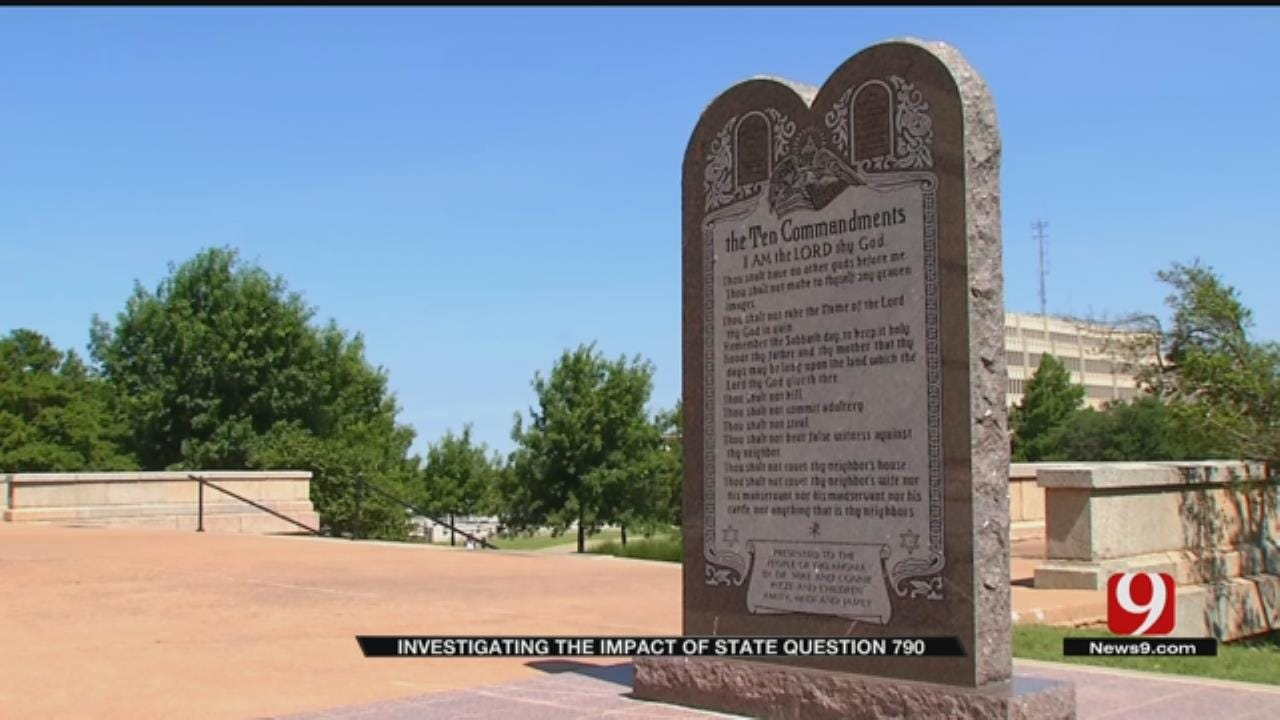 State Question 790 Addresses More Than The Ten Commandments