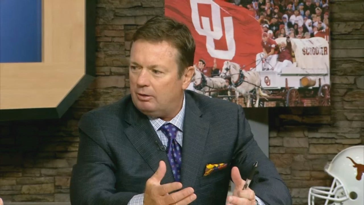 Dean Goes 1-on-1 With Bob Stoops After Win Over Iowa State