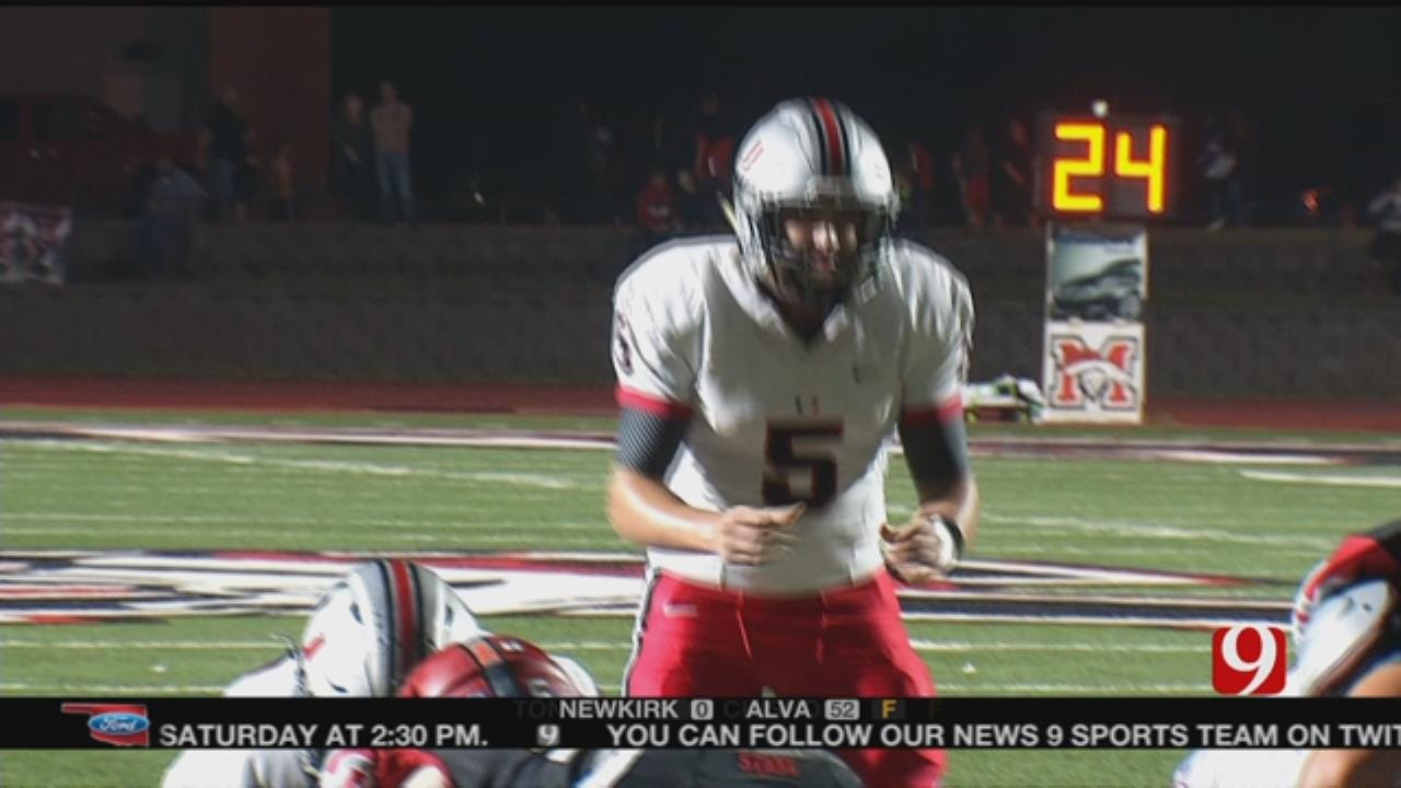 Union Holds Off Mustang 20-17