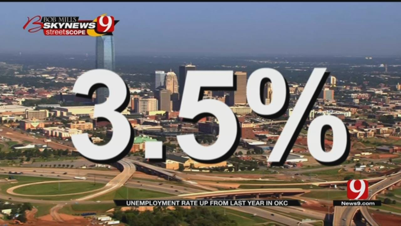 New Data Shows OKC's Unemployment Rate On The Rise