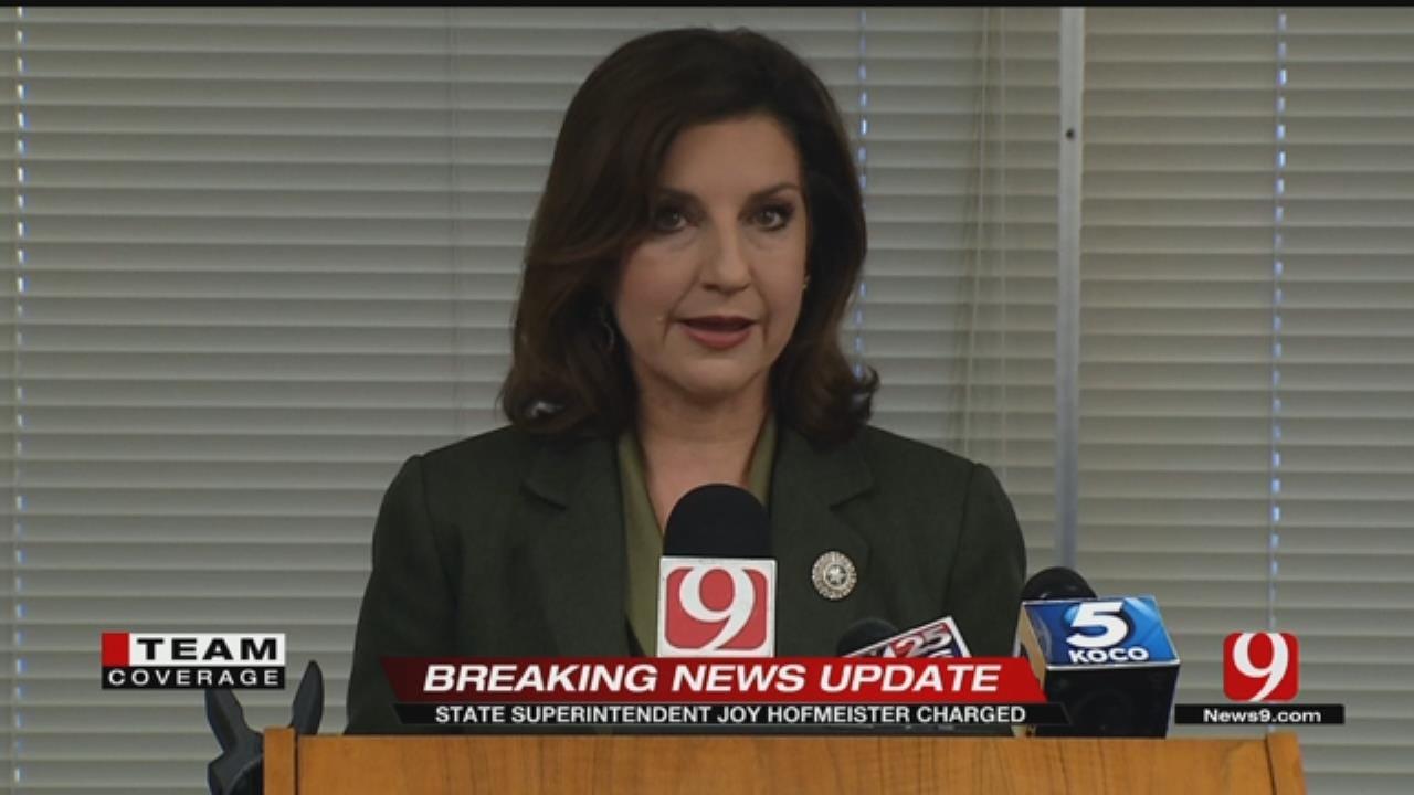 Joy Hofmeister Speaks Out Against Allegations