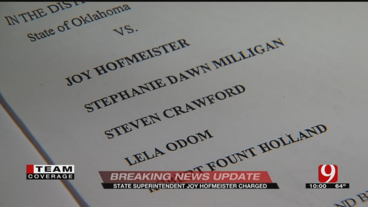 State Superintendent, Four Others Charged With Campaign Violations