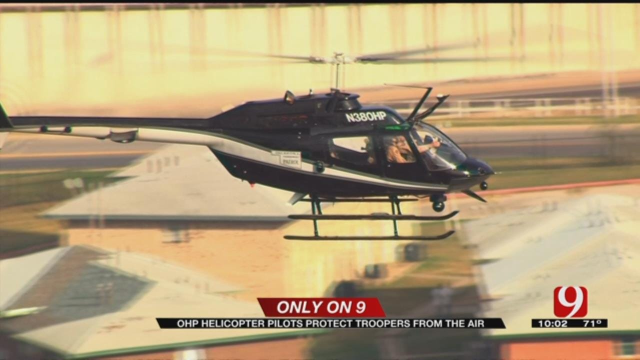 Only On 9: OHP Helicopter Pilots Protected Troopers From The Air