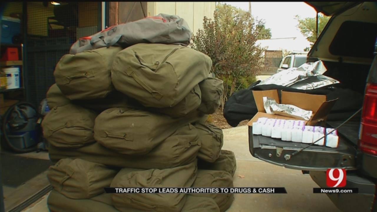 Traffic Stop Leads Authorities To Drugs, Cash