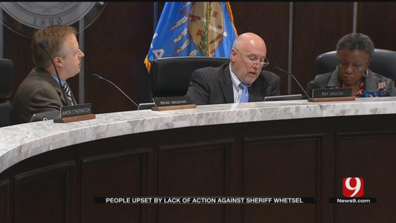 OK County Commissioners Hold Off Until After Election In Sheriff Audit