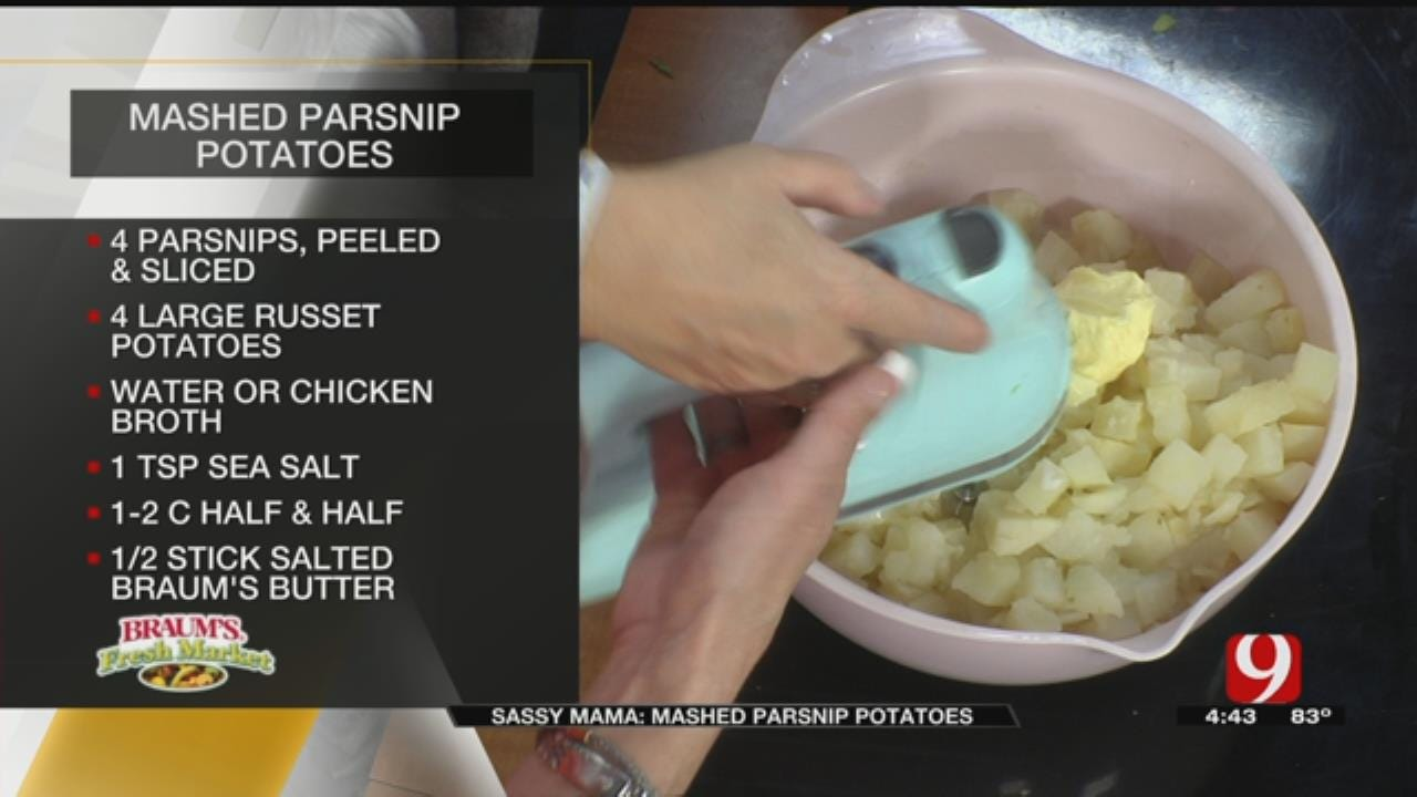 Mashed Parsnip Potatoes