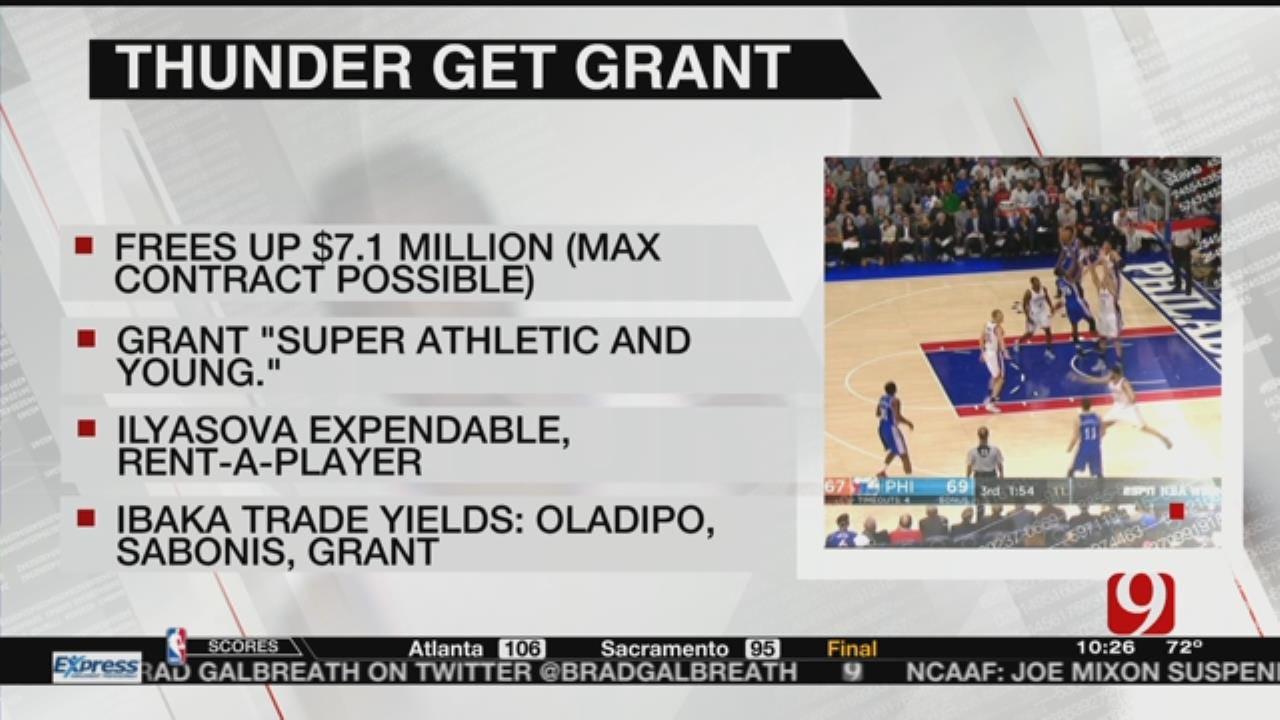 Report: Thunder Trades For Jerami Grant
