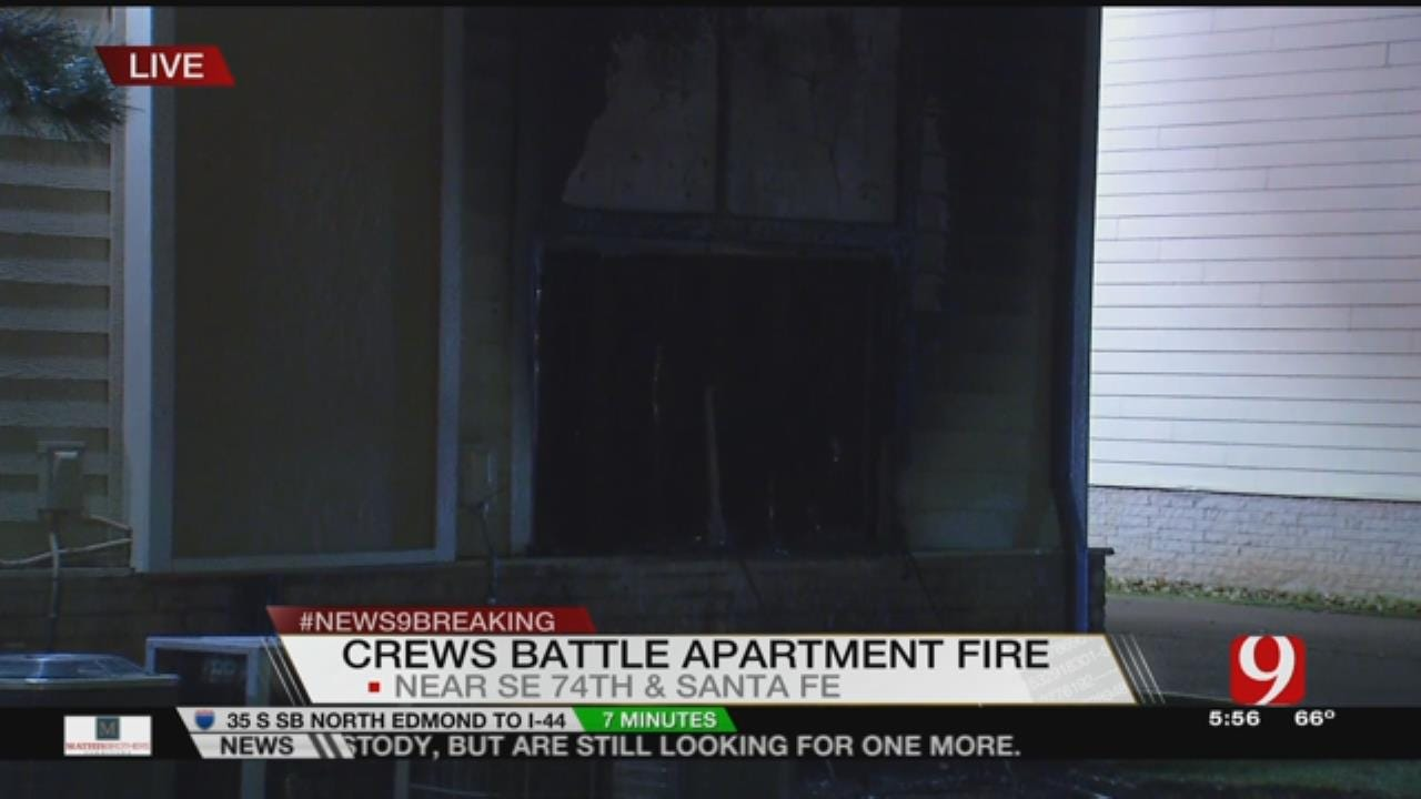 Crews Evacuate Residents Due To Apartment Fire In SW OKC