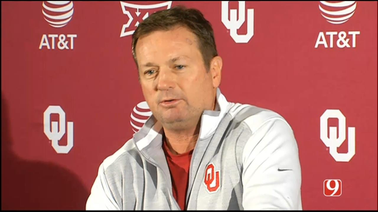 Bob Stoops' Monday Press Conference