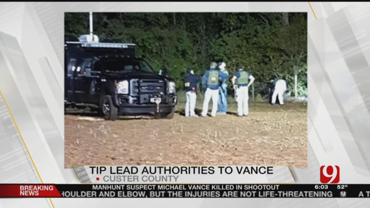Law Enforcement Praises Vigilance Of Communities During Michael Vance Manhunt