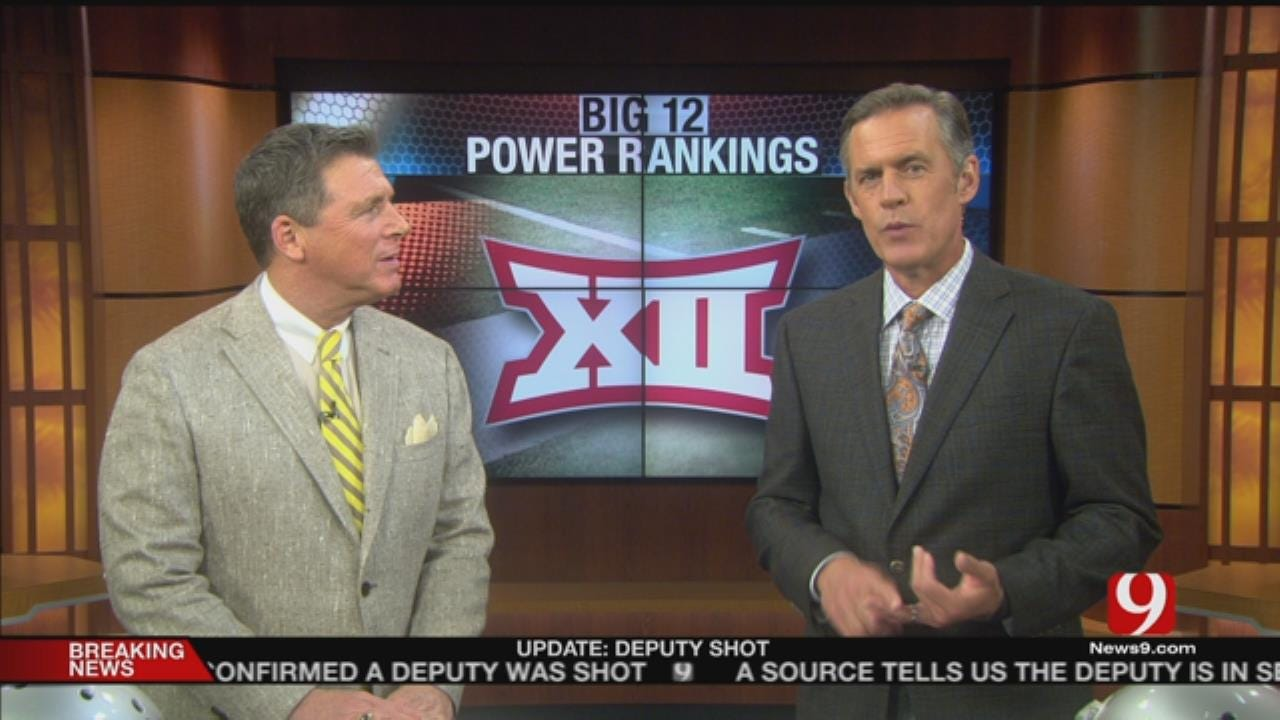 Dean And John's Big XII Power Rankings
