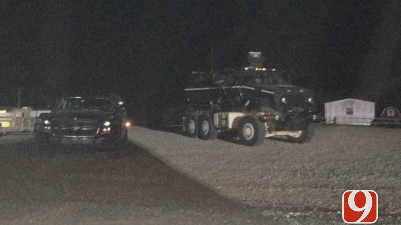 WEB EXTRA: Agencies Gather To Search For Michael Vance After Possible Sighting