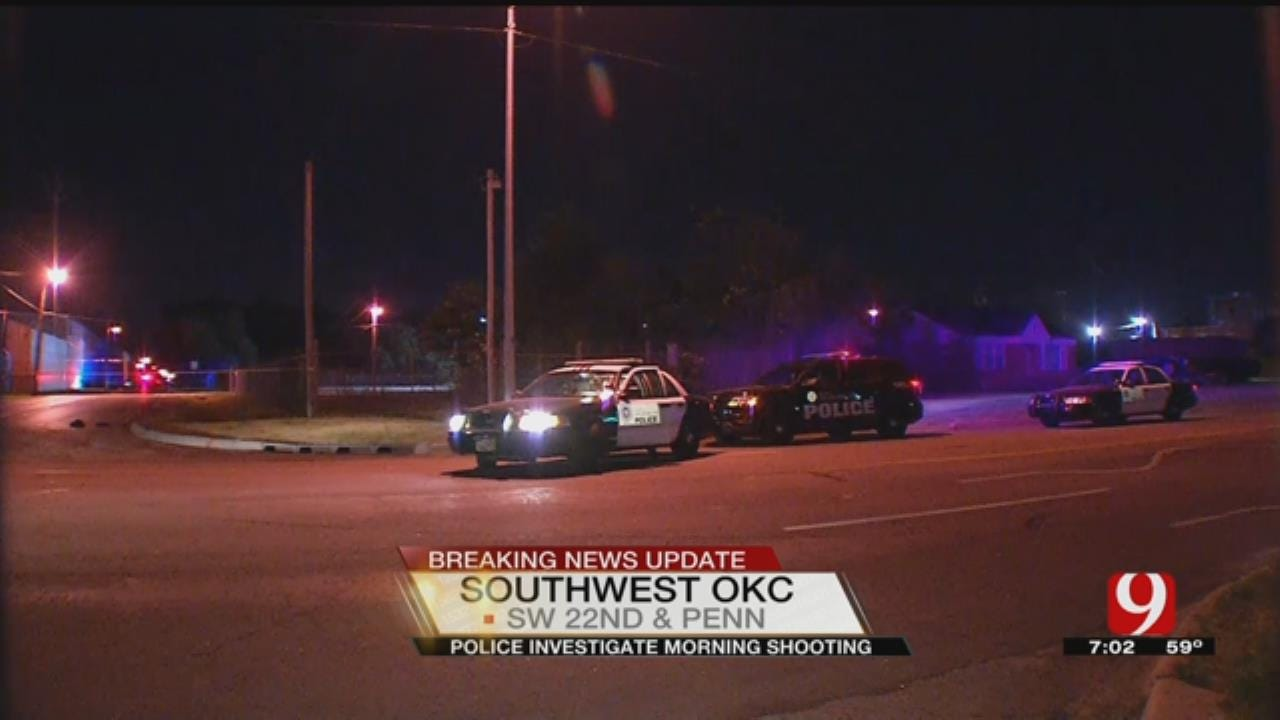 Police Investigating After Three Shot In SW OKC