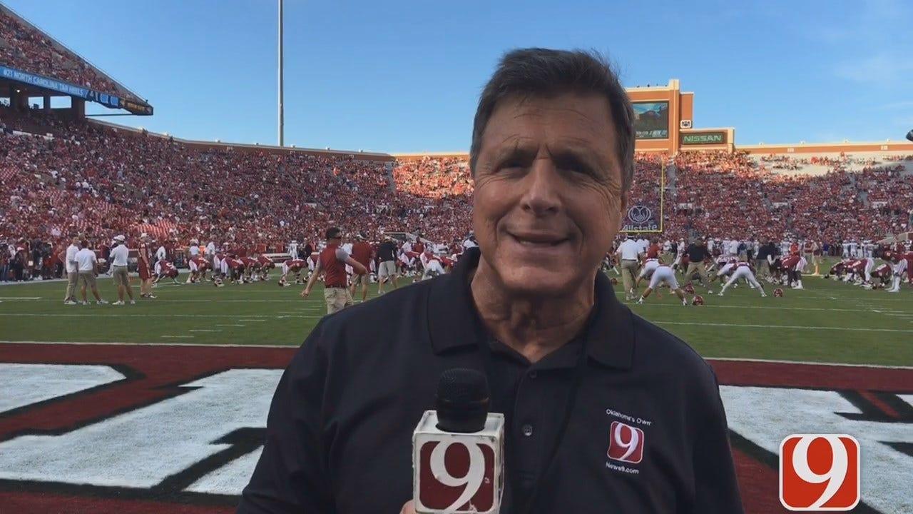 Dean Previews OU-KU From Inside Memorial Stadium