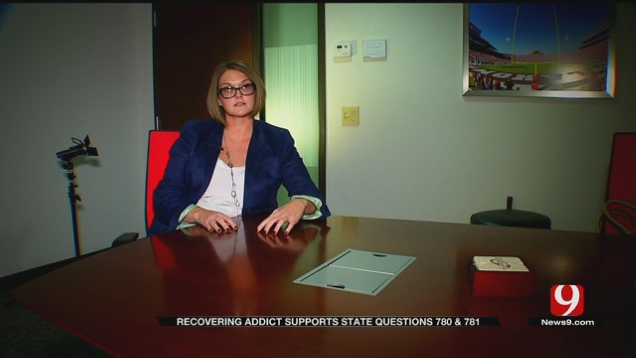 Recovering Addict Supports State Questions 780, 781