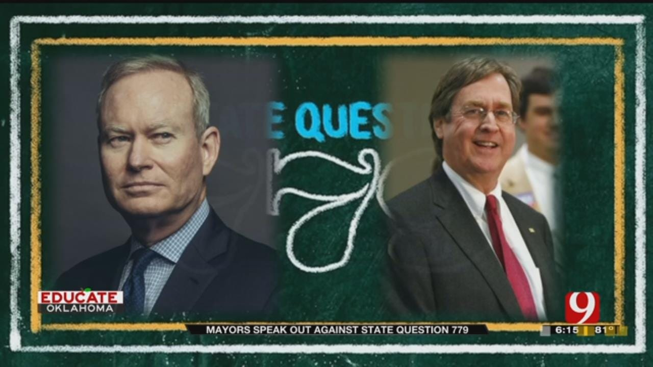 OKC, Tulsa Mayors Speak Out Against State Question 779