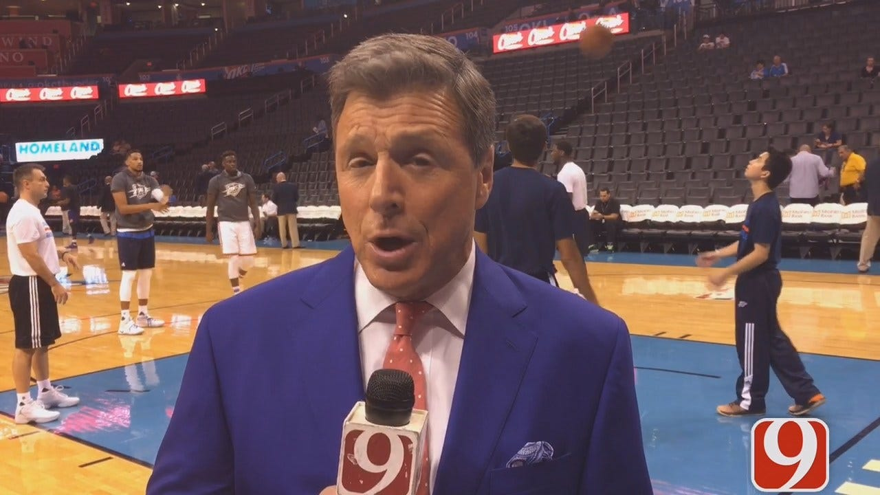 Dean Previews Tonight's Thunder-Suns Matchup