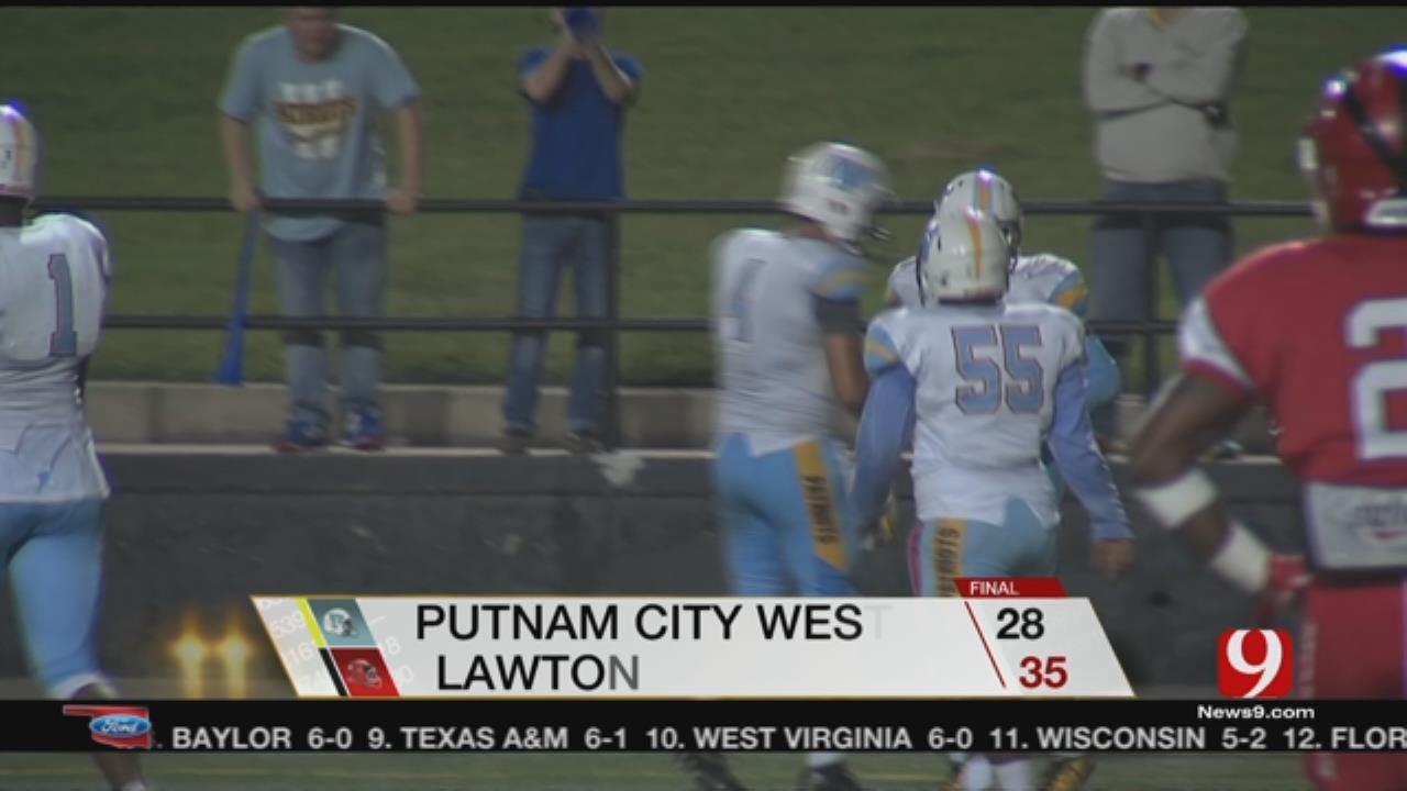 Lawton Drops PC West, 35-28